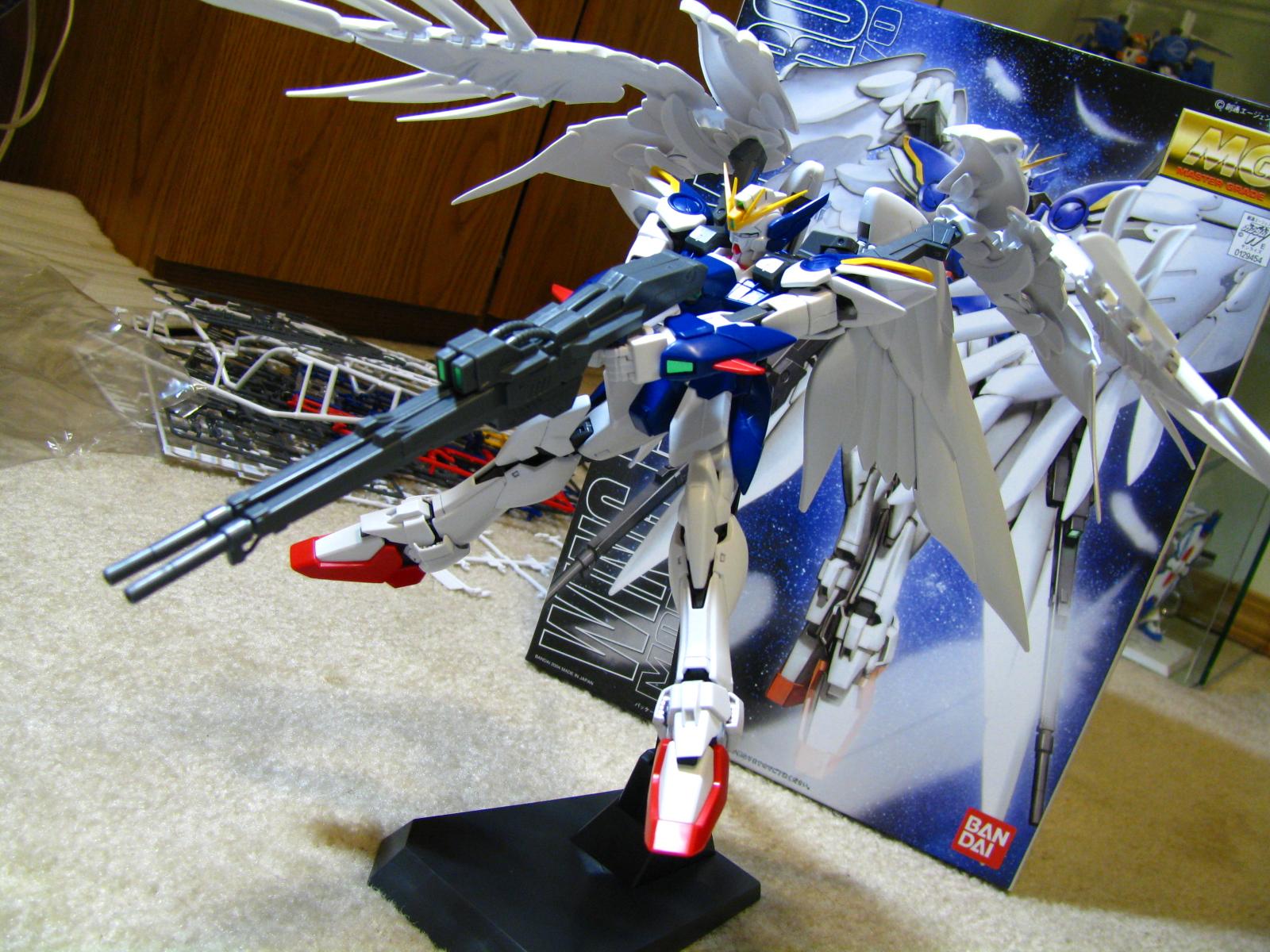 Cool Wing Gundam Zero Mg Illustration