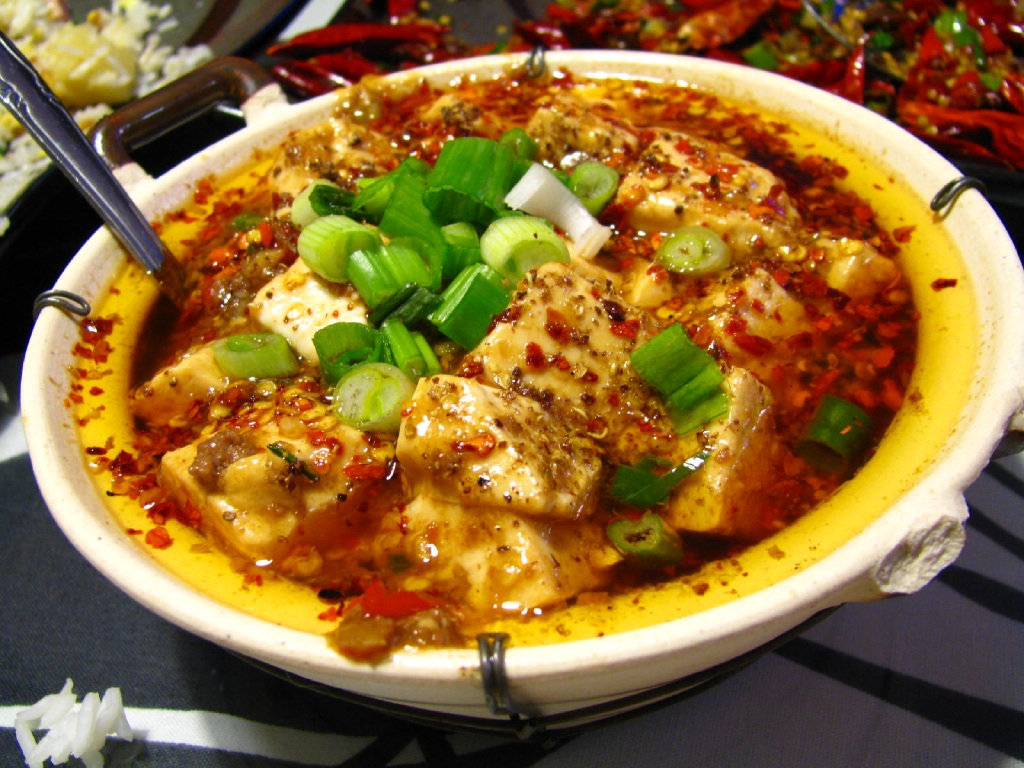 Spicy chinese food for Asian food cuisine