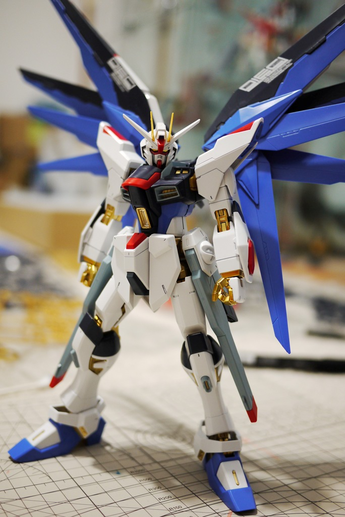 MG Strike Freedom WIFP: Unboxing – ガンプラ命