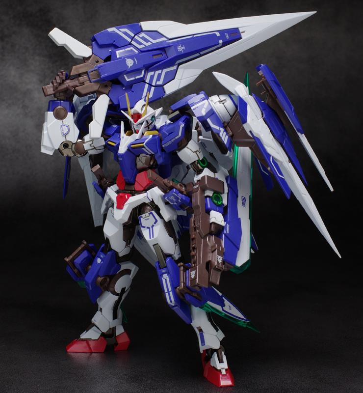 00 Raiser Seven Sword ガンプラ命